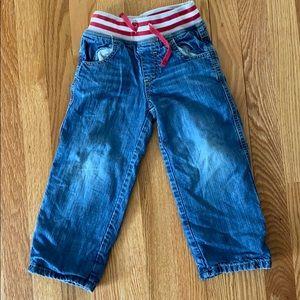 Mini Biden toddler jeans